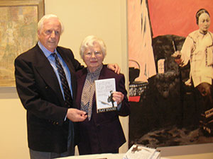 Ray with Arc-GW supporter Trudy Rheinhardt who was a child in Austria during the Nazi occupation.