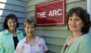 Pam, Bett Faye & Darla at the Arc-GW office